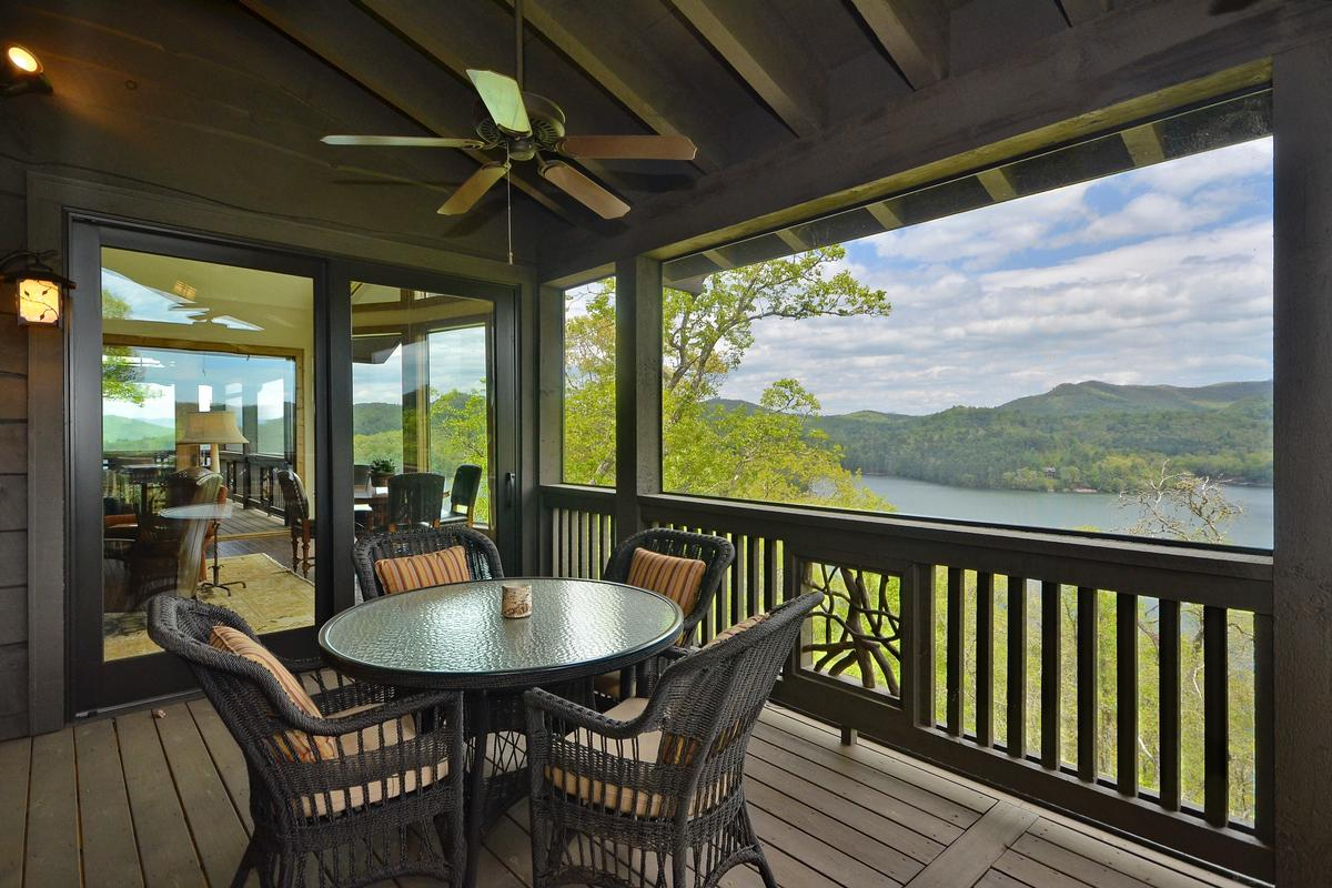 Luxury real estate Luxury Retreat with Phenomenal Lake Glenville View