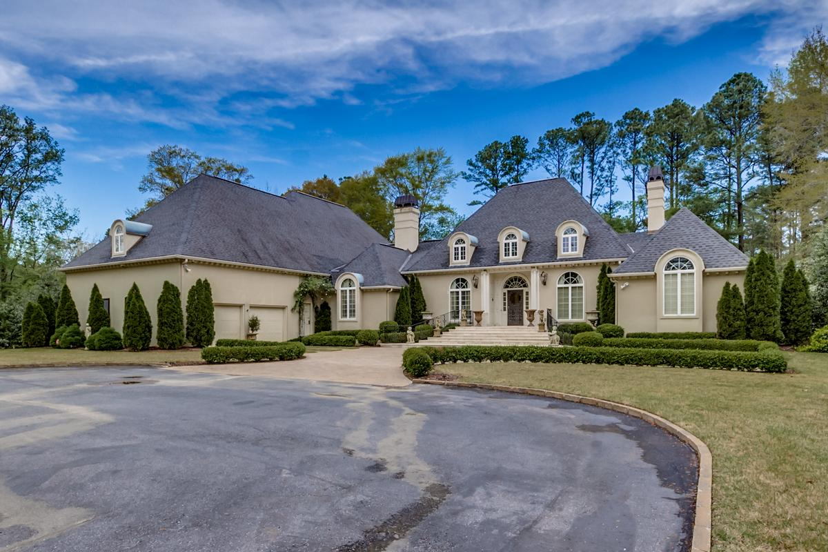 Beautiful two acre estate luxury real estate