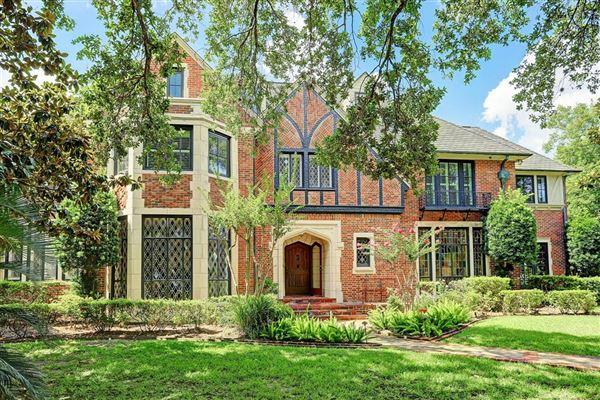LANDMARK ENGLISH TUDOR IN OLD BRAESWOOD | Texas Luxury Homes