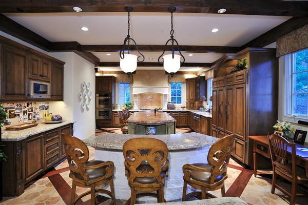 Luxury properties majestic home in Piney Point Village
