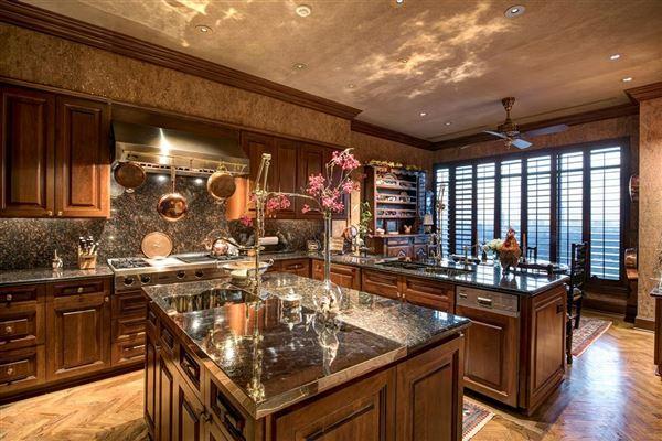 elegant custom 19th floor unit in The Huntingdon  luxury homes