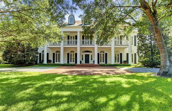 GRACIOUS SOUTHERN PLANTATION STYLE | Texas Luxury Homes ...