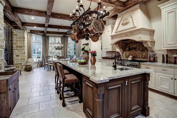 Luxury real estate European ambiance in a luxuriously-appointed setting