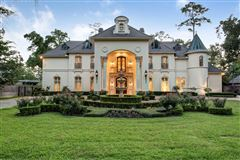 Magnificent custom French Chateau luxury homes