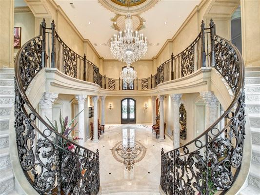 Luxury homes Magnificent custom French Chateau