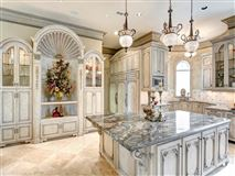 Magnificent custom French Chateau luxury real estate
