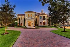 Luxury properties Exquisite custom waterfront estate