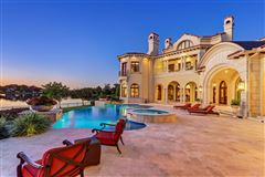 Exquisite custom waterfront estate mansions