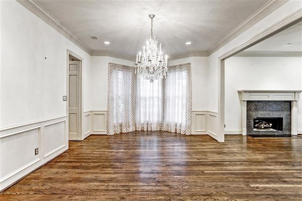 Luxury real estate stately brick home in a gorgeous setting