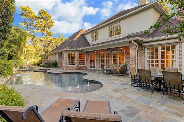 stately brick home in a gorgeous setting luxury homes