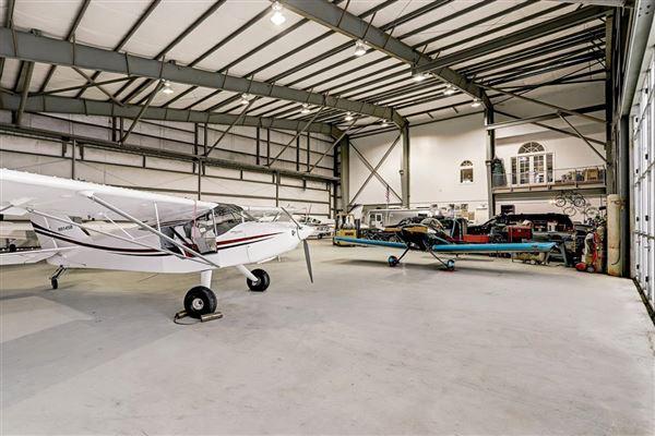 custom hangar house - finest in aviation lifestyle luxury real estate