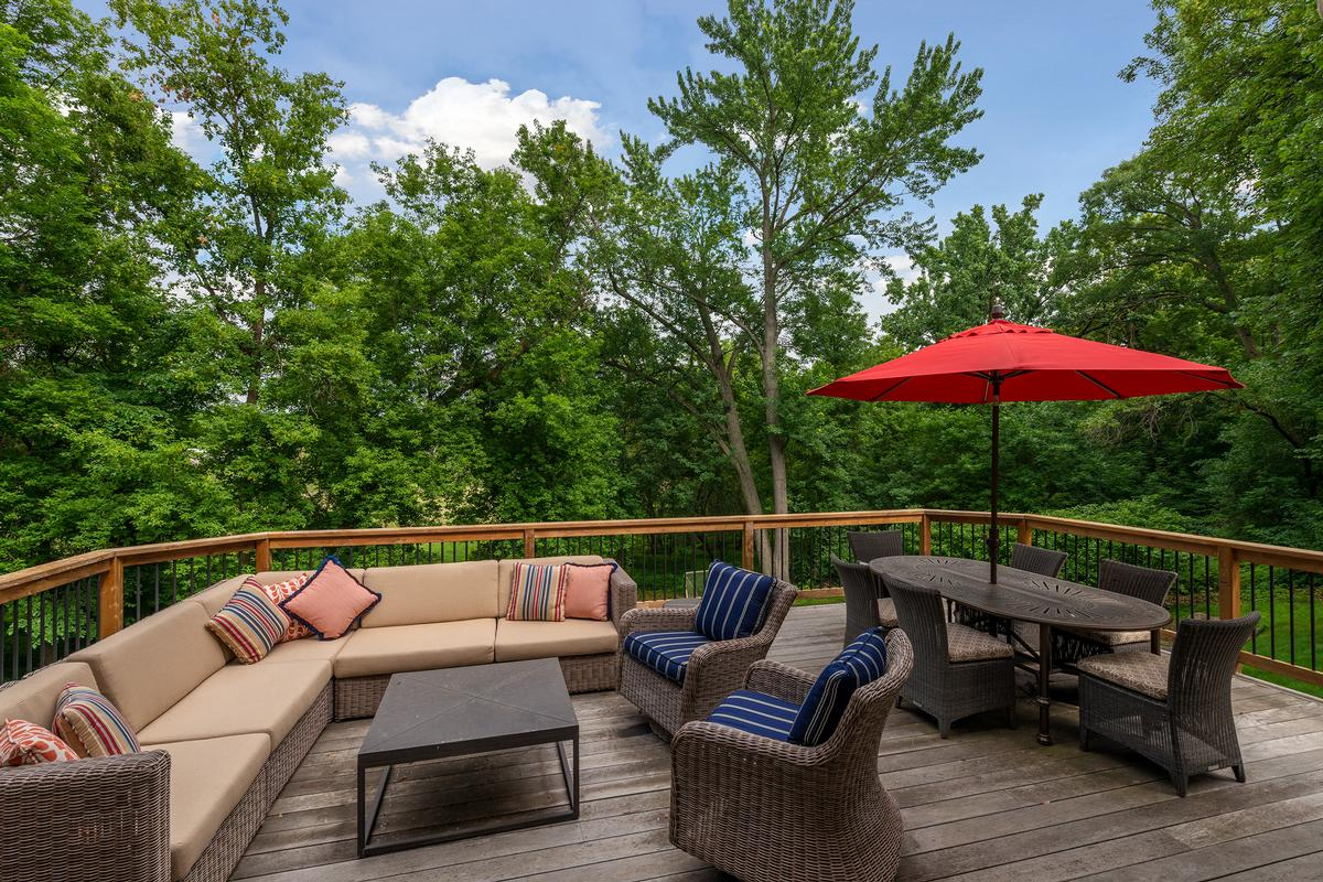 Conveniently Located Three Acres of Privacy mansions
