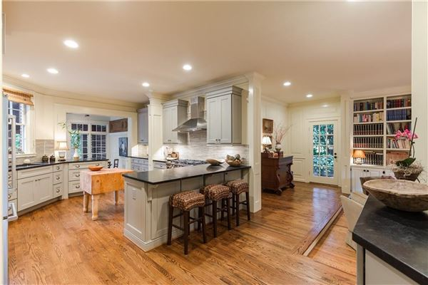 Luxury properties remodeled Historic Brookhaven home