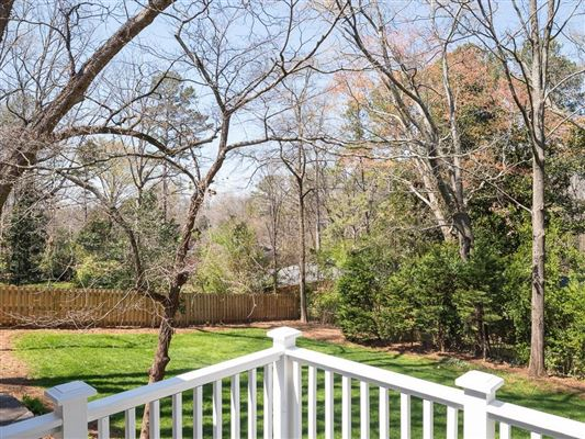 ultimate in privacy in Historic Druid Hills luxury real estate