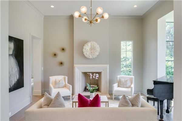 Stunning transitional style home luxury homes