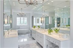 Mansions Stunning transitional style home