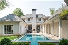 Stunning transitional style home mansions
