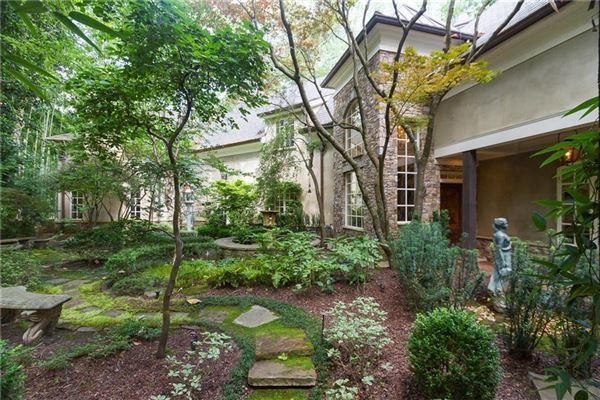 A one-of-a-kind Buckhead oasis luxury properties