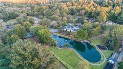 Luxury real estate eight acre Equestrian Estate on the Chattahoochee River
