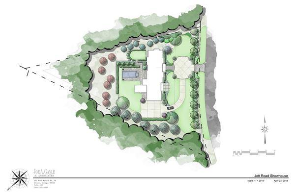 Luxury homes Fabulous new estate home in atlanta