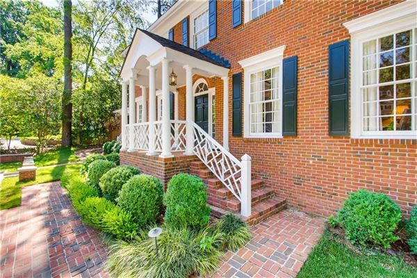 Luxury real estate Beautiful Buckhead classic in atlanta