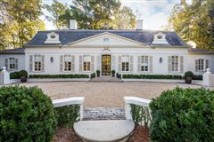 Luxury properties Extraordinary French Pavilion Neoclassical Manor