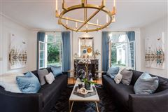 Luxury homes in Extraordinary French Pavilion Neoclassical Manor