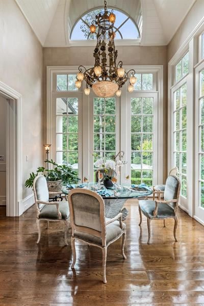 Luxury homes magnificent english manor in premier Tuxedo Park