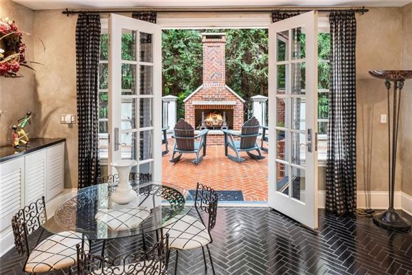 Luxury real estate magnificent english manor in premier Tuxedo Park