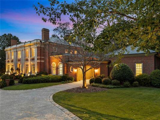 Luxury properties magnificent english manor in premier Tuxedo Park