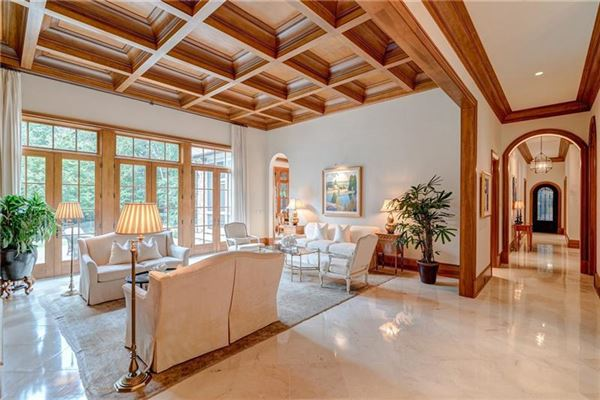 Luxury homes in Private estate on 2 beautiful acres