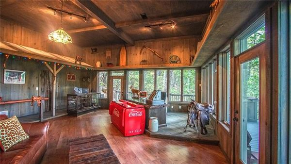 An incredible mountain estate in Ellijay mansions