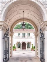 Luxury real estate Exceptional, Gated Mediterranean Masterpiece