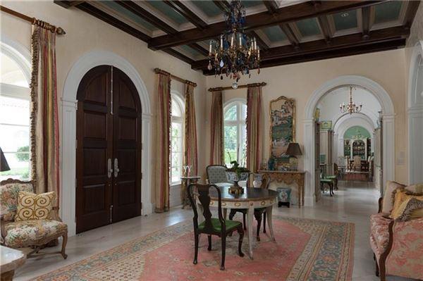 Luxury properties Exceptional, Gated Mediterranean Masterpiece