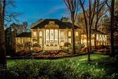 Luxury homes in Magnificent estate on almost six acres in Atlanta Georgia