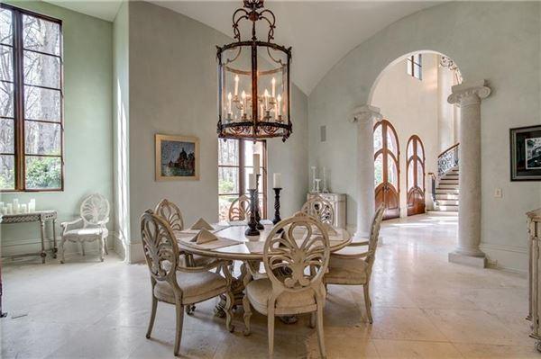 Magnificent estate on almost six acres in Atlanta Georgia luxury real estate