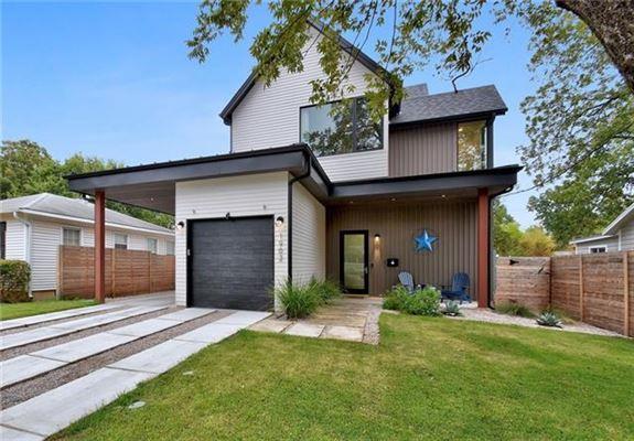 modern Farmhouse near Zilker Park luxury homes