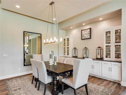 Luxury real estate custom-built home