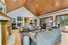 Peaceful home includes a guest house and fire pit mansions