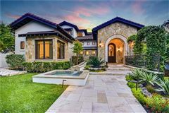 Mansions in Custom Mediterranean villa with breathtaking Lake Travis views