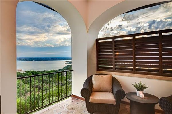 Luxury homes in Custom Mediterranean villa with breathtaking Lake Travis views