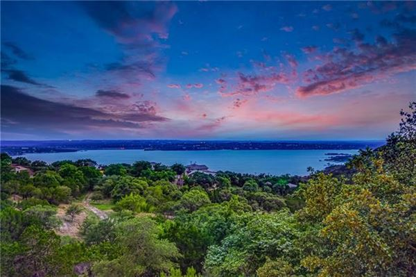 Custom Mediterranean villa with breathtaking Lake Travis views luxury homes