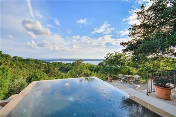 Custom Mediterranean villa with breathtaking Lake Travis views luxury real estate