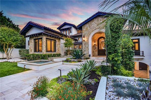 Custom Mediterranean villa with breathtaking Lake Travis views luxury properties