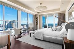 Luxury homes in coveted corner unit with sweeping views