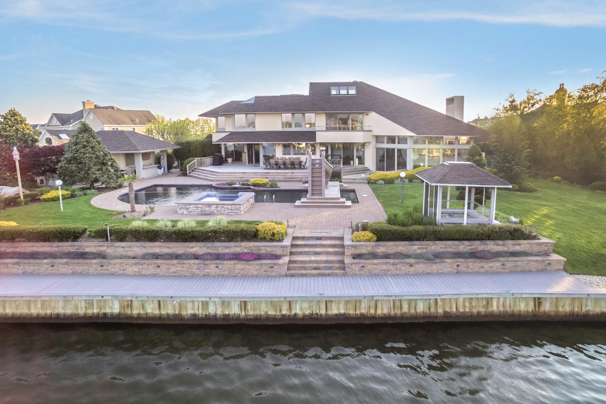 one-of-a-kind lagoon-front home luxury homes