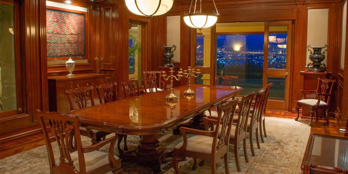 Luxury homes private hilltop estate