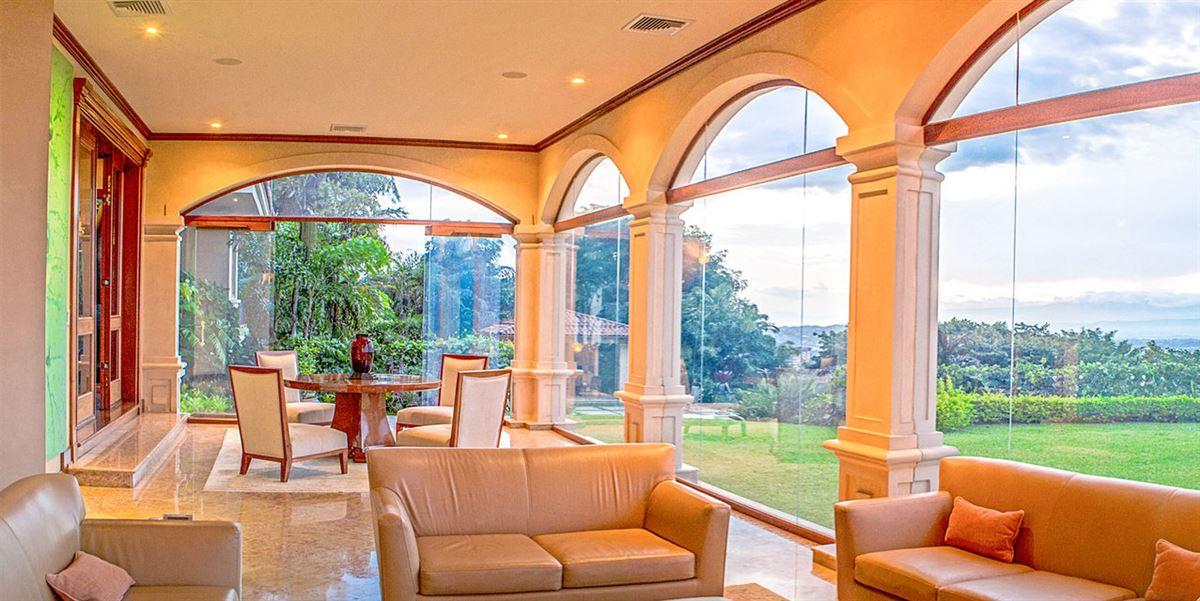 Luxury real estate private hilltop estate