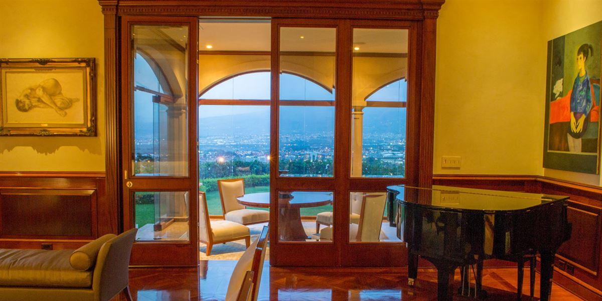 Luxury properties private hilltop estate