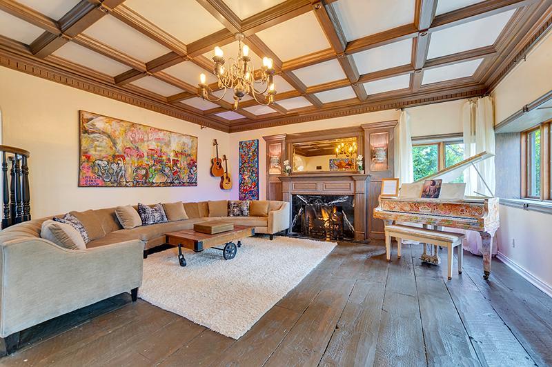 Luxury homes Custom-built Tudor Revival Estate